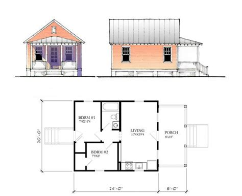 katrina cottage floor plan katrina cottage house plans plans not to scale drawings