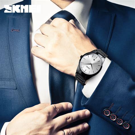 Jam Tangan Skmei 9140 skmei jam tangan analog pria 9140cs black