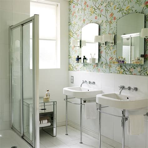 bathroom wallpaper ideas uk how to make the most of a small shower room shower rooms