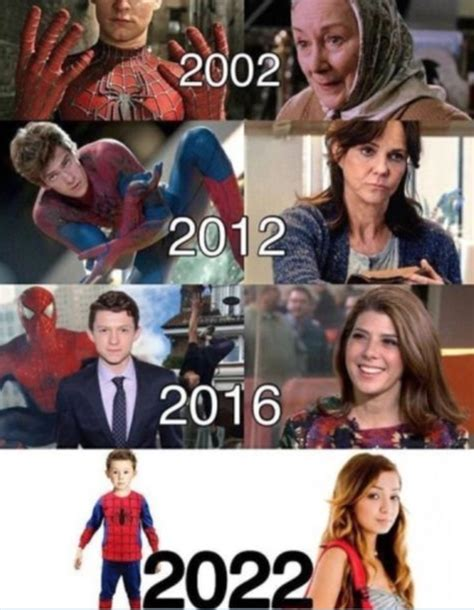 Spiderman Movie Meme - skip s house of chaos the evolution of spider man and