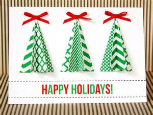 12 beautiful diy homemade christmas card ideas home