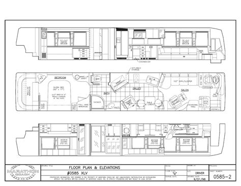 prevost floor plans 2000 prevost marathon xlnon slide