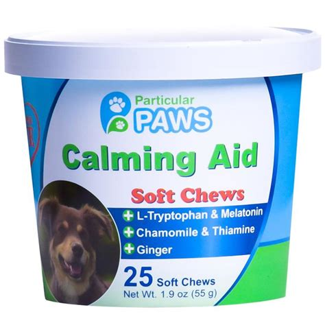 puppy calming treats best calming aid treats stress and anxiety relief particular paws