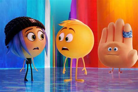 emoji high five watch trailer for the emoji movie rock 95