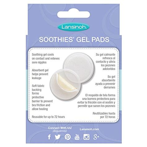 Best Jell Cooler Pad Gel Tempat Es lansinoh soothies gel pads for mothers 2 count instant cooling relief for