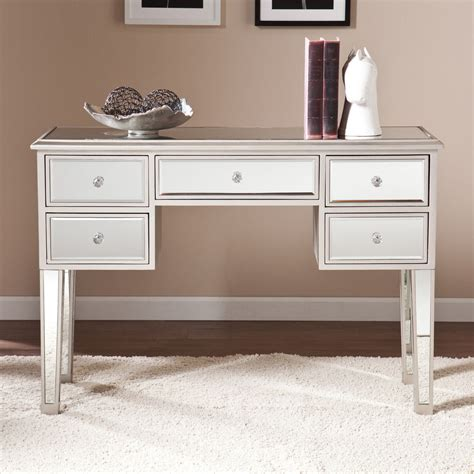 regency mirrored console furniture table desk