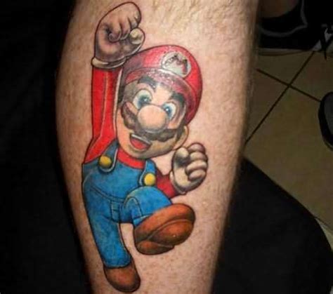 mario tattoo mario tattoos combine and 171
