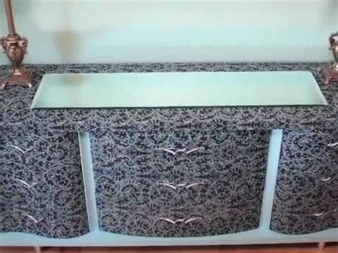 how to mod podge furniture youtube