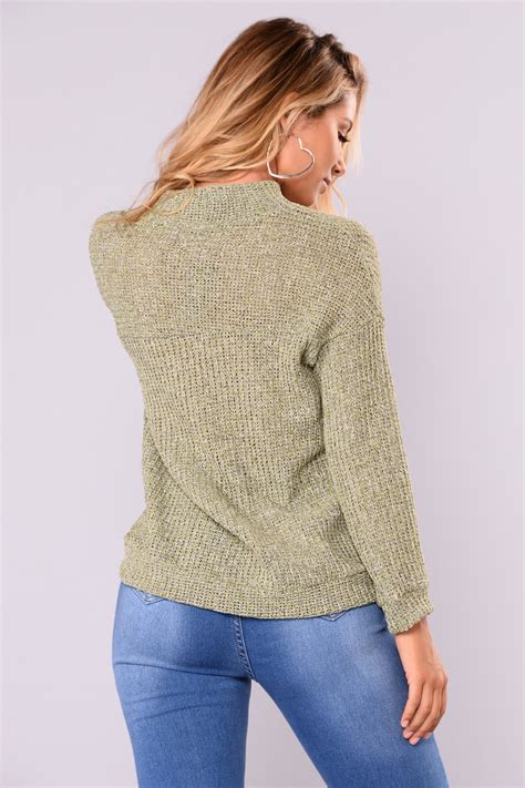 Sweater Lp Only You 1 only sweater olive