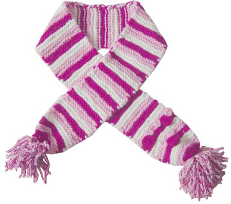 listing of knitted scarves for new