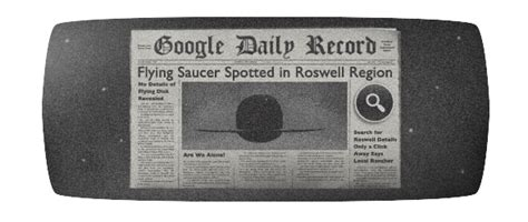 how to do roswell s 66th anniversary doodle s doodle marks 66th anniversary of the roswell ufo