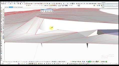 topography in sketchup sketchup from pdf to 3d topography