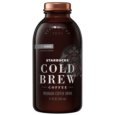 Cold Brew Coffee Black By Bagasta Coffee starbucks cold brew coffee cocoa honey with 11 fl oz glass bottles 6 count