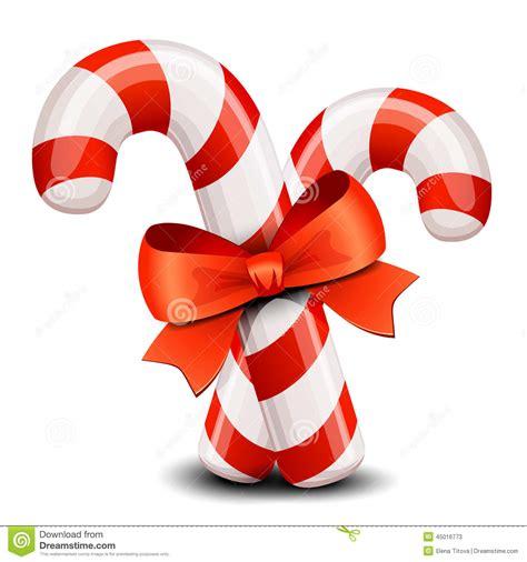 clipart natalizi bastoncino di zucchero di natale illustrazione vettoriale