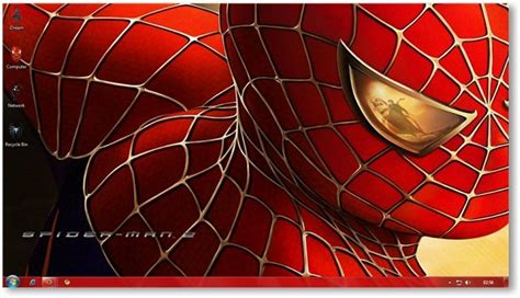 download themes for windows 7 spiderman spiderman theme for windows 7 and windows 8