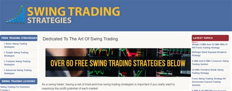 swing trading strategies that work top 100 forex blogs list of best forex websites to follow