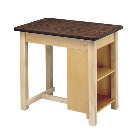 end shelved taping table w50852tt bailey 12 end
