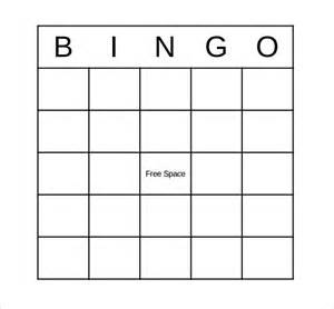 bingo sheet template sle bingo card 11 documents in pdf word