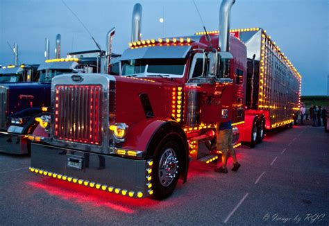 led lights for peterbilt 379 semi truck customization guide paint lights fenders