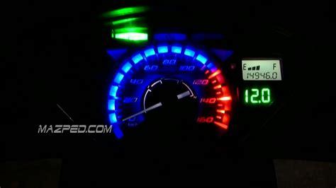 Lu Led Supra X 125 pasang rpm led di supra x 125 mazpedia