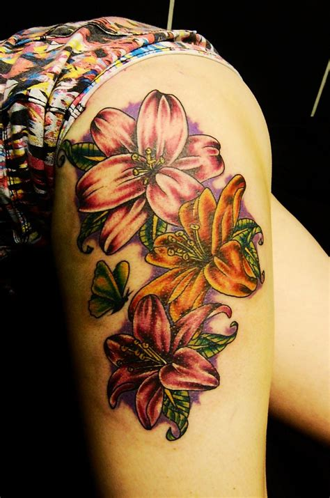 tiger lily flower tattoo designs tattoos designs ideas and meaning tattoos for you