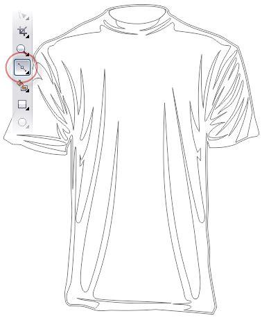 desain gambar pada kaos cara membuat desain kaos dengan coreldraw keripik citul