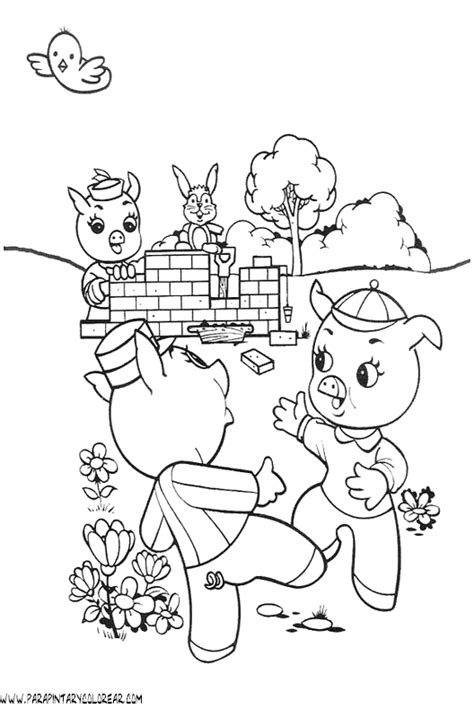 pin loro dibujos para colorear dibujos1001com lmm board on pinterest pin tres cochinitos lobo feroz los cerditos para imprimir