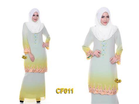 Baju Kurung Moden Chiffon Lining butik sayang zulaikha baju kurung moden melur chiffon lining
