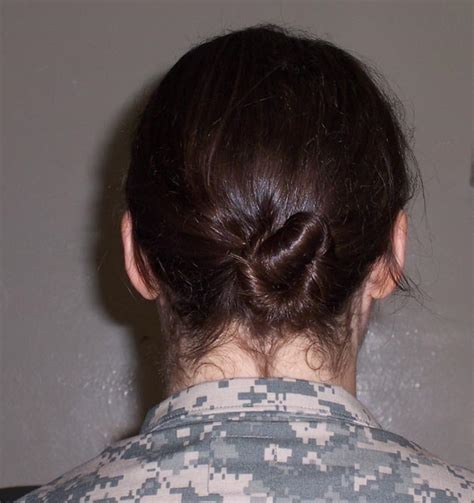 female military hairstyles for long hair army hairstyles females