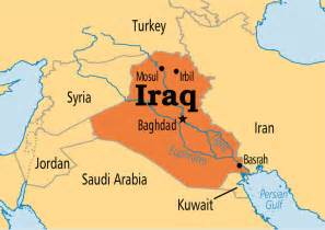 baghdad world map iraq operation world