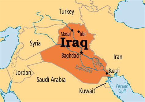 baghdad on world map image gallery iraq on world map