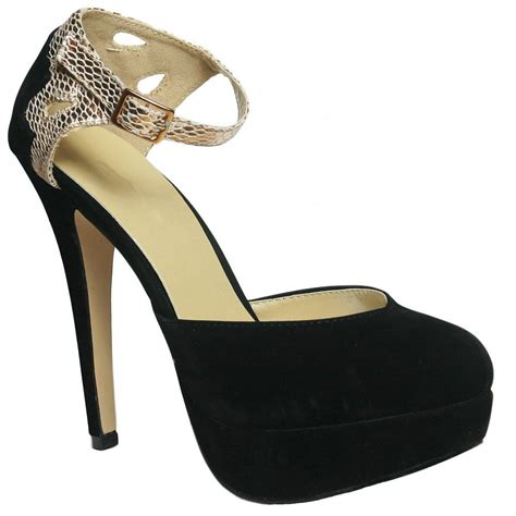 gold and black high heels black and gold ankle platform stiletto court