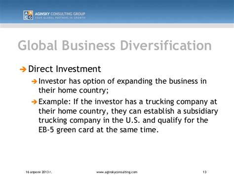 the eb 5 handbook a guide for investors and developers books acg eb 5 direct investment presentation