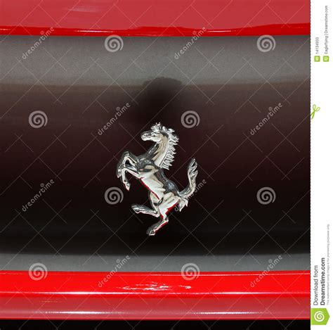 Auto Logo Mit Pferd by Insignia Caballo De En El Coche De 458