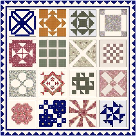 Dear Quilt Pattern by Dear Quilt By Stickle 1863 Pattern Chart Graph