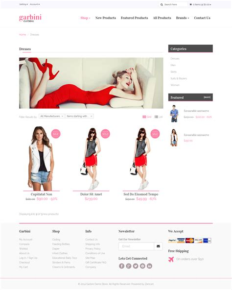 Themeforest Ecommerce Html | themeforest marqet responsive ecommerce template rip