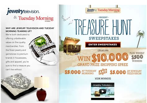 Jewelry Tv Sweepstakes - jewelry television sweepstakes thin blog