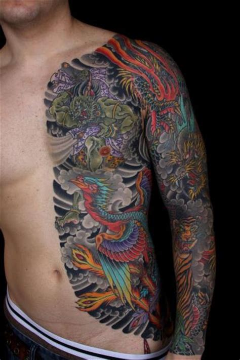 side arm tattoos by avenue japanese sleeve