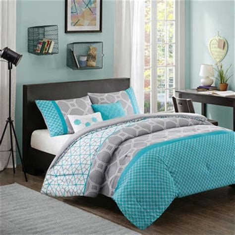 aqua and gray bedding full queen size aqua geometric blue from hearts attic