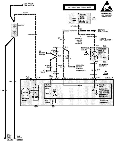 alternator wiring diagram chevy chevy s10 alternator wiring diagram 35 wiring diagram