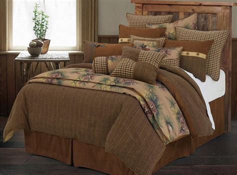 pinecone bedding crestwood pine cone rustic comforter set super king