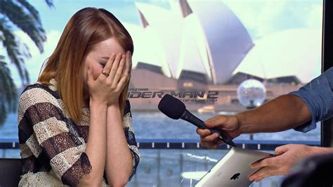 emma stone youtube emma stone brought to tears by mel b youtube