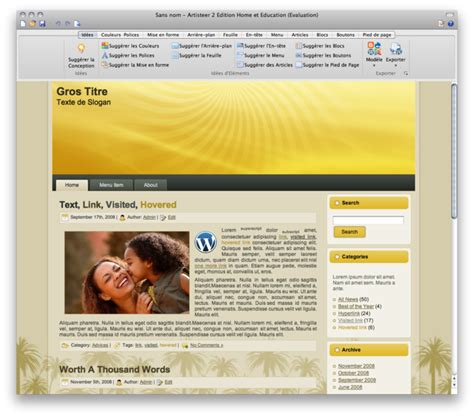 membuat theme wordpress dengan artisteer thiết kế theme wordpress blogger miễn ph 205