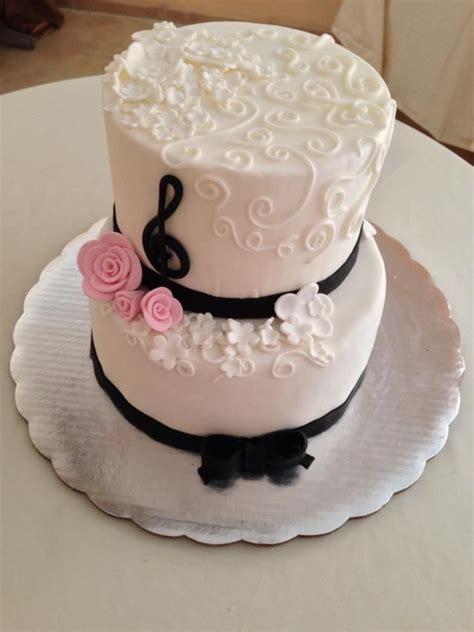 notas musicales pasteles xv anos pinterest  cakes vanilla bean cakes  opera cake