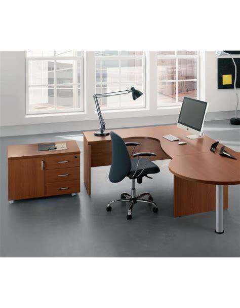 Scrivania A L by Scrivania Workstation A L Con Cassettiera Per Ufficio Cm