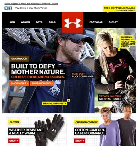 email format under armour optimizing headlines for email marketing programs
