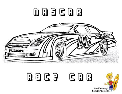 coloring pages race cars nascar free nascar coloring pages the sports fan
