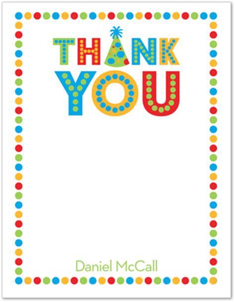 General Birthday Thank You Card Wording