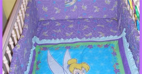 Tinkerbell Crib Bedding Set Tinkerbell New Crib Bedding Set With 7 By Alexiskleegrandma Baby Ideas Pinterest
