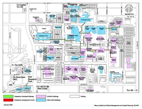 ou map contact information office of the senior vice president and provost of oklahoma